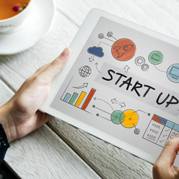 business start-up image